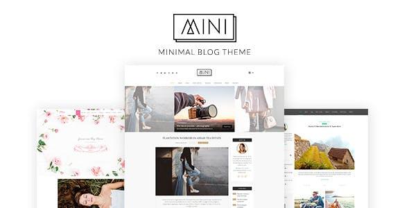 Mini Blog - Minimal Blog Theme, Blog WP