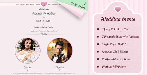 Wedding & Marriage - Wedding Theme