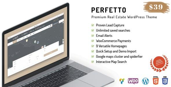 Perfetto - Premium Real Estate WordPress Theme