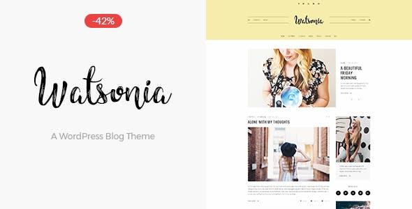 Watsonia - A WordPress Blog Theme