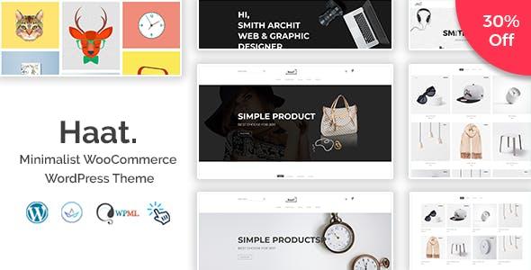 Haat - Minimalist WooCommerce WordPress Theme