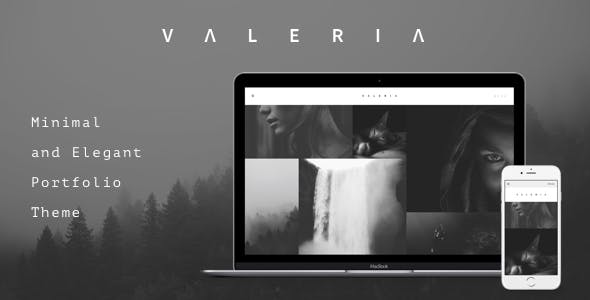 Valeria - Photography WordPress Theme