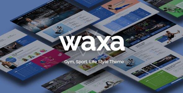 Waxa - Fitness, Gym & Sports WordPress Theme