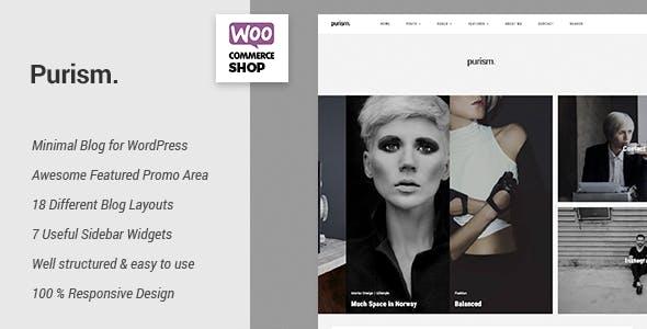 Purism - WordPress Blog Theme