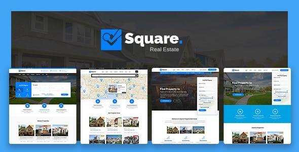 Square - Real Estate WordPress Theme