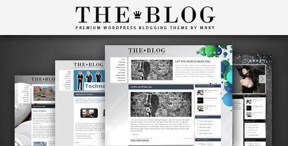 The Blog WordPress Theme