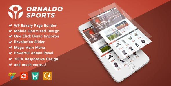 Ornaldo - Sport Responsive WooCommerce WordPress Theme