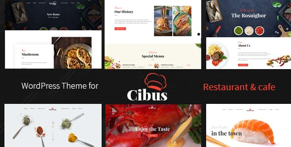 Cibus - Restaurant & Cafe WordPress Theme