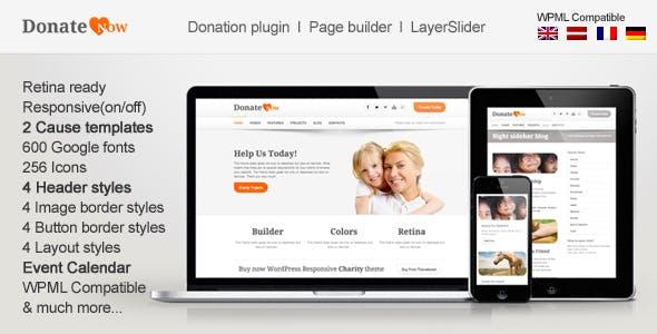 DonateNow | WordPress Theme for Charity