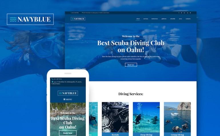 Snorkeling WordPress Theme