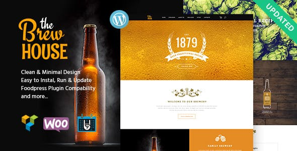 The Brew House | Brewery / Pub / Restaurant Theme