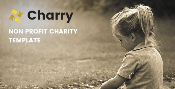 Charry - Non Profit Charity WordPress Themes