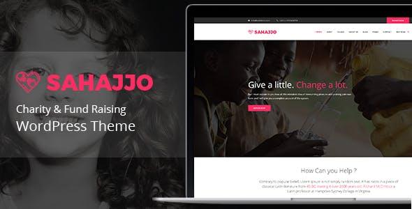 Sahajjo - Charity / Fundraising Nonprofit WordPress Theme
