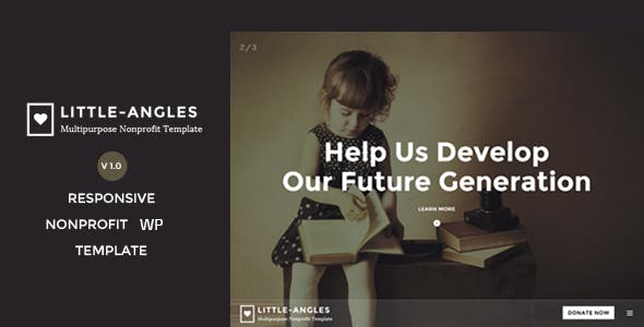 Angel - Nonprofit Charity WordPress Theme