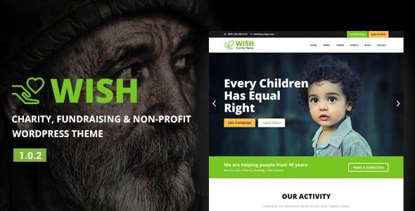 Wish - Charity WordPress Theme