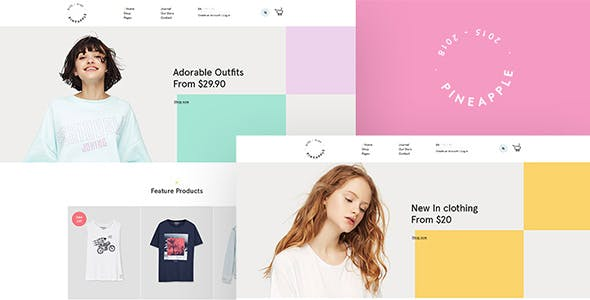 Pineapple - Minimal WooCommerce WordPress Theme