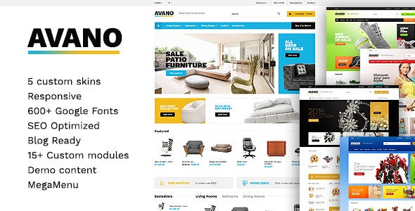Avano - Multipurpose WooCommerce Theme