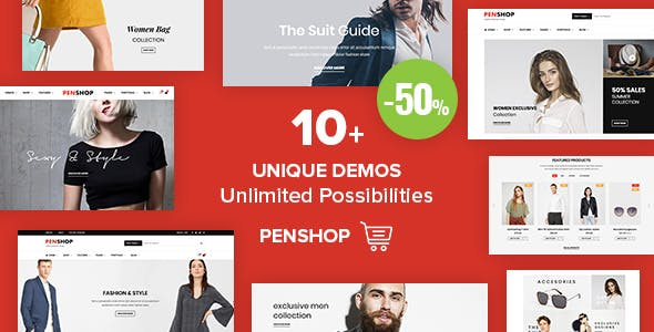 PenShop - Multi-Purpose eCommerce WordPress Theme