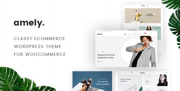 Amely - eCommerce WordPress Theme for WooCommerce