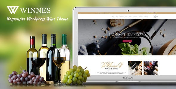 Winnes - Responsive Wine and Restaurant WooCommerce Theme