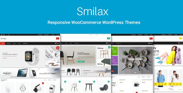 Smilax - Multi-purpose Responsive WooCommerce Theme
