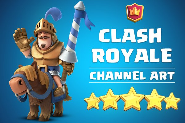 Clash Royale Channel Art