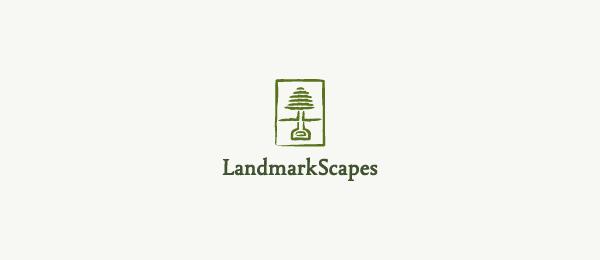 green tree logo landmark scapes 22