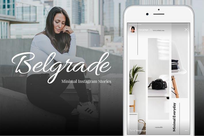 Belgrade 50 Minimal Instagram Stories