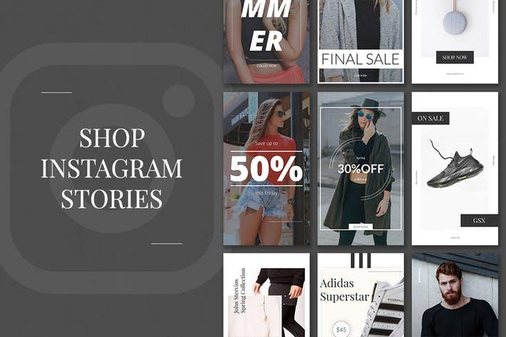 Shop Instagram Stories