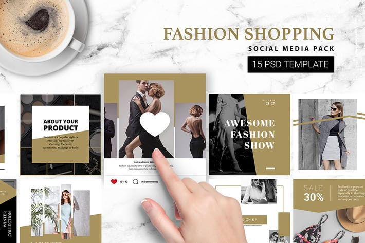 Fashion Shopping Instagram Template