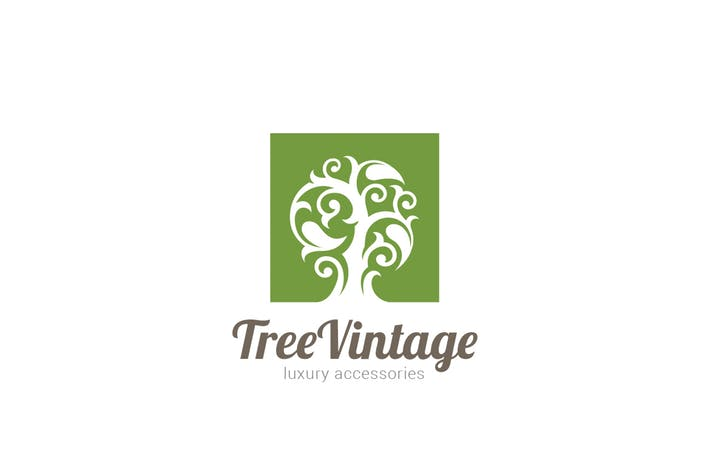 Logo Tree Vintage
