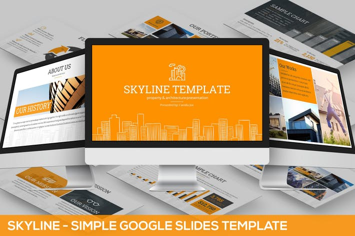 Skyline Google Slides Template