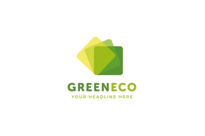 GreenEco Logo Template