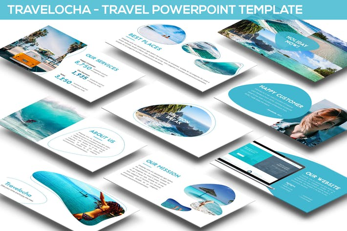 Travelocha - Travel Powerpoint Template