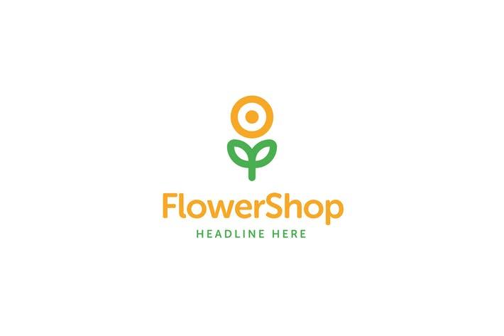 Flower Shop Logo Template