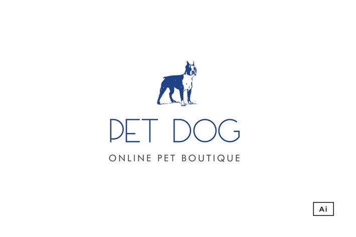 Pet Boutique Logo Template