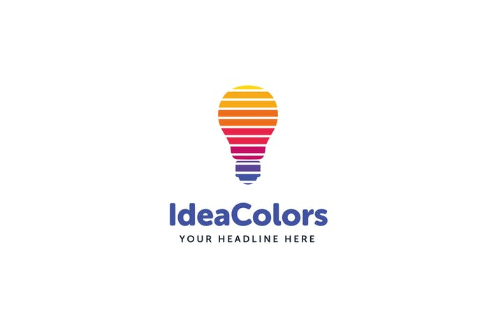 Idea Colors Logo Template