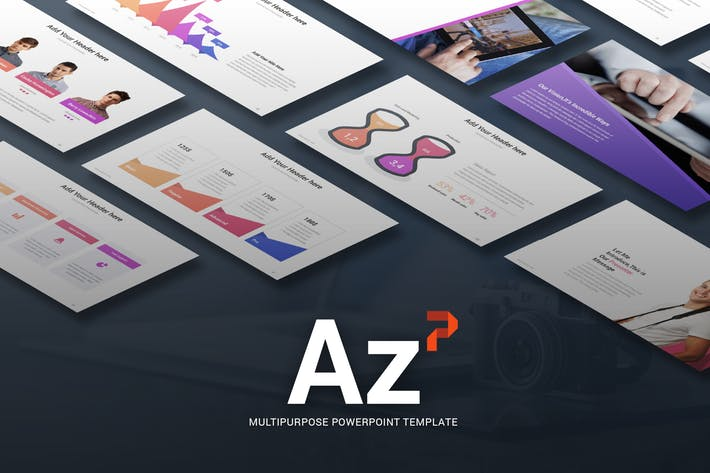 Az - Multi-purpose Powerpoint Template