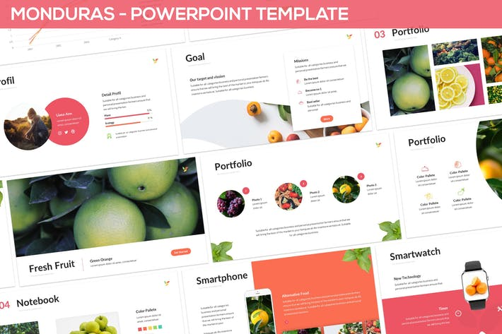 Monduras - Nature Powerpoint Template