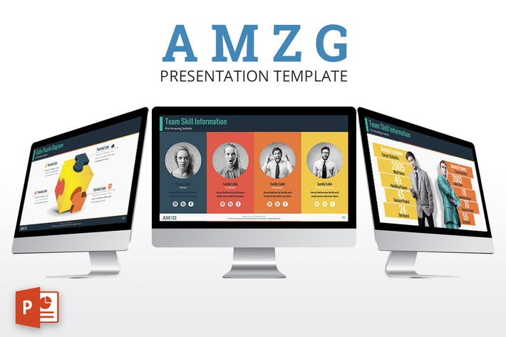 AMZG - Powerpoint Presentation Template