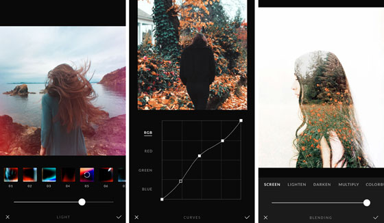 Best photo editing apps afterlight2