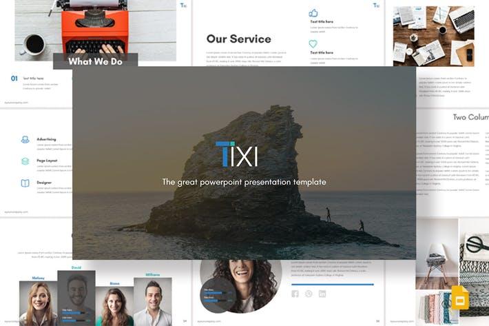 Tixi - Google Slides Template