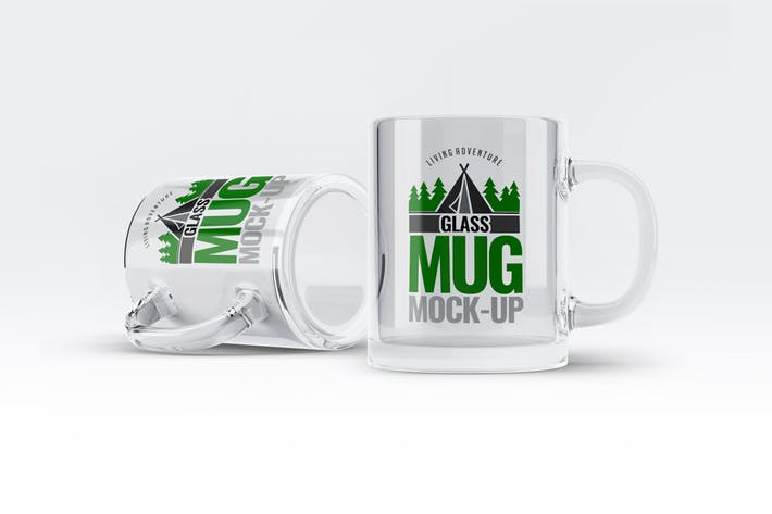 Glass Mug Mock-Up