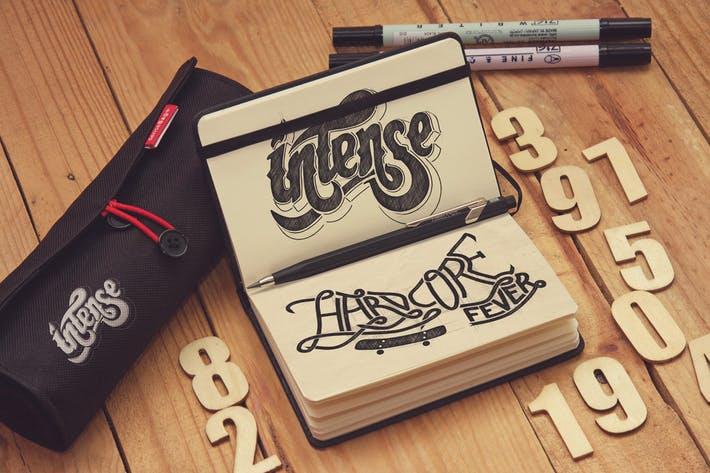 Sketch Pocket Notebook Hortizontal