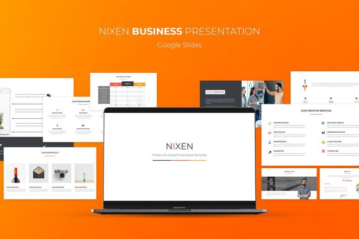 Nixen Google Slides Template