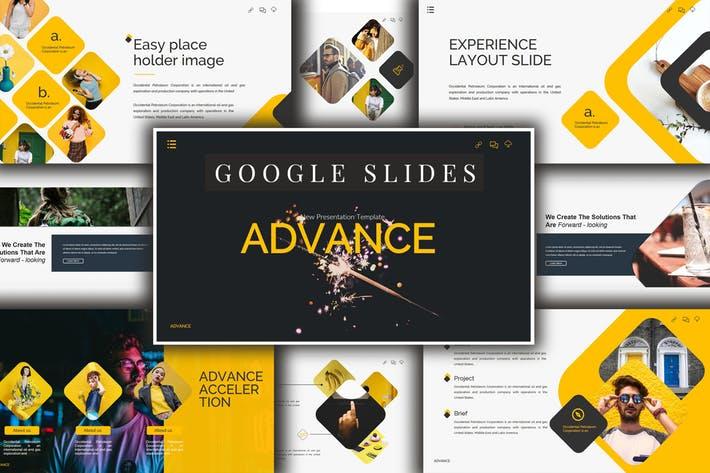 Advance Lookbook Google Slides Presentation