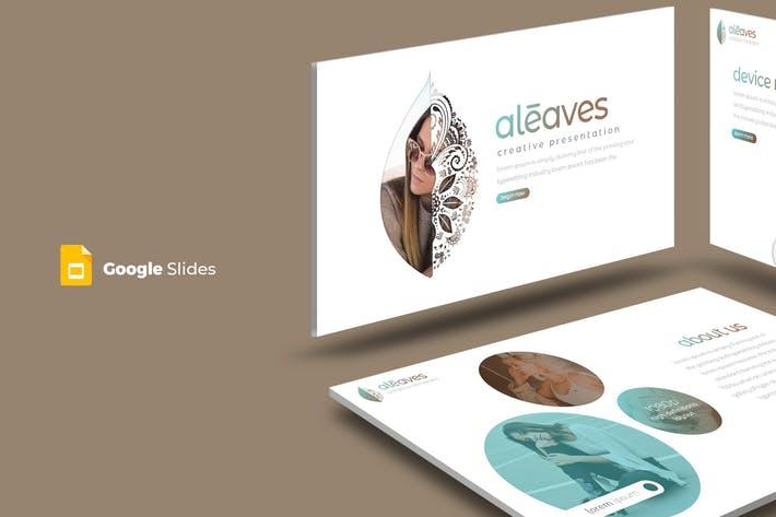 Aleaves - Google Slide Template