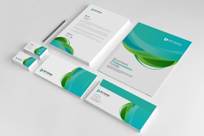 Business Stationery Template 23