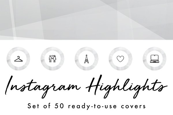 50 Instagram Story Highlight Covers