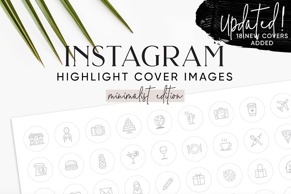 132 White Instagram Highlight Cover…